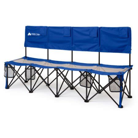 sports bench seating cing bench seat chair folding outdoor portable sports 4