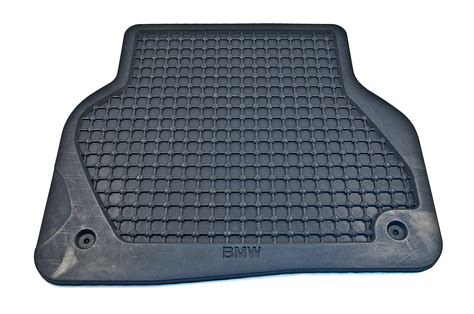 bmw genuine rear floor mats rubber black e39 5 series 82559405044 ebay