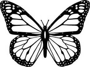 Black And White Butterfly Clipart clipart black and white butterfly