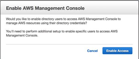 aws console access how to connect your on premises active directory to aws