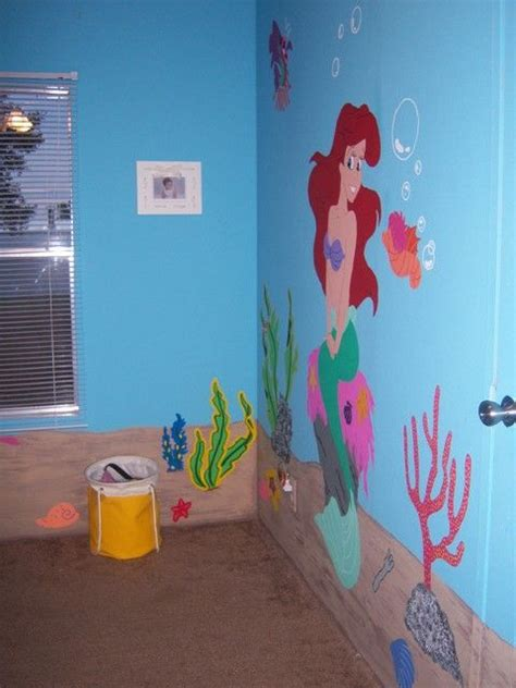 little mermaid room ideas pin by holly watkins on disney bedrooms pinterest