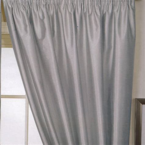 pencil pleat drapes faux silk silver pencil pleat curtains pencil pleat