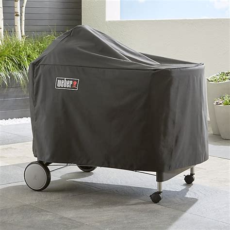 Weber Grill Cover by Weber 174 Performer Premium Deluxe Grill Cover Crate And