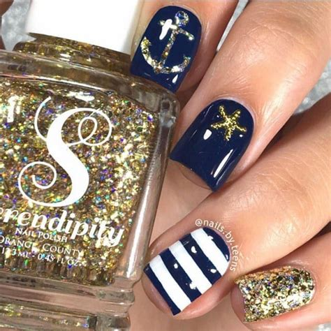Nautical Nail Designs