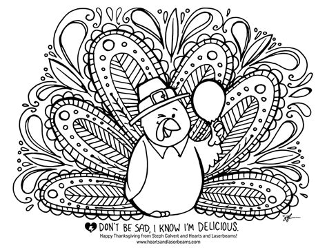 Thanksgiving Coloring Sheet by Thanksgiving Coloring Pages Skip To My Lou