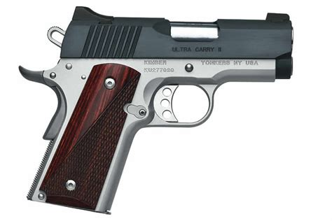 kimber ultra carry ii two tone 45 acp vance outdoors