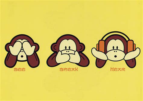 hear no evil see no evil speak no evil tattoo three wise monkeys tv tropes