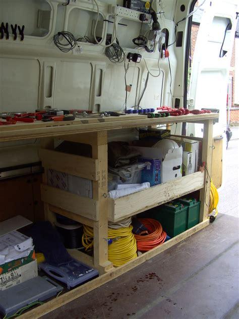 van work bench workbench carpentry joinery kitchens bathrooms framing handmade items