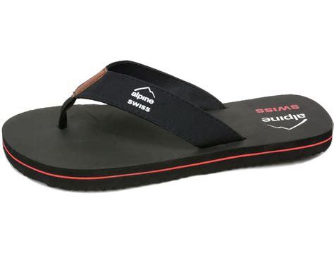 sole comfort alpine swiss men s flip flops beach sandals lightweight