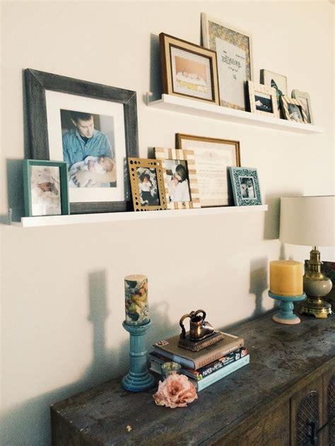 ikea photo ledges ikea photo ledges staggered by meg ruth photo display everyday pinterest photos photo