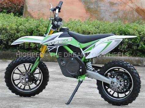 swing 70ccm 500w electric dirt bike hp110e c highper china