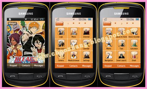 themes of samsung corby 2 blog archives yellowmemo
