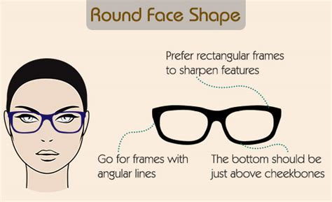frame design for round face a visual guide to choose eyeglass frames for your face shape
