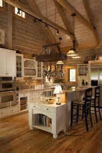 home decor ideas kitchen 53 sensationally rustic kitchens in mountain homes