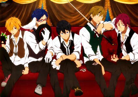 anime and club free iwatobi swim club anime wallpaper 37072414 fanpop
