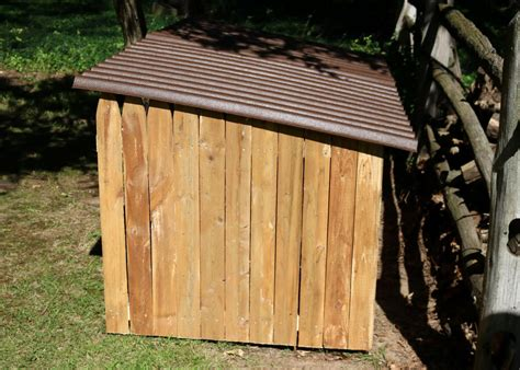 Firewood Rack Roof by How To Build An Outdoor Firewood Storage Shed How Tos Diy