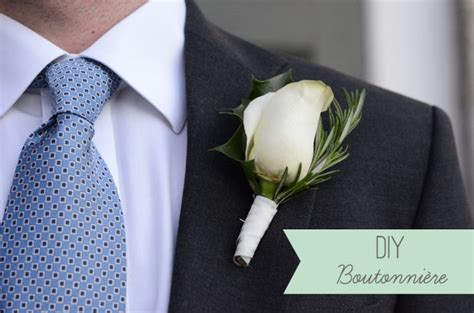 Handmade Corsage And Boutonniere - diy boutonniere diy buttonhole for the groom easy