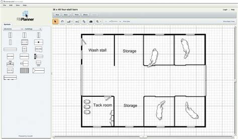 Build Your Own Floor Plan Online Free by Fbi Planner Let S You Design Your Barn Online For Free