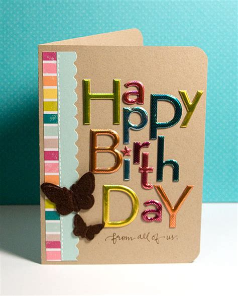finally friday happy birthday from all of us - Make Happy Birthday Card