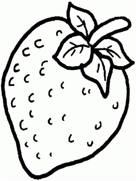 imagenes para colorear fresa dibujo de fresa para colorear y pintar