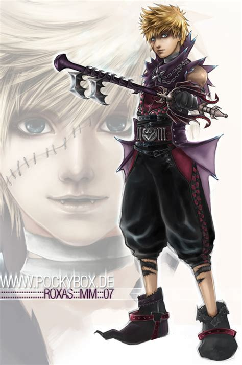 Roxas   Dissidia Gaiden: Two Sides To Every Story   RolePlayGateway