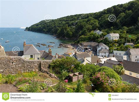 is plymouth in cornwall cawsand cornwall united kingdom royalty free stock