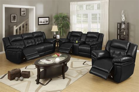 small living room ideas with black leather sofa