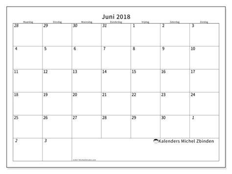 Kalender Juni 2018 Zum Ausdrucken Kalender Juni 2018 70mz