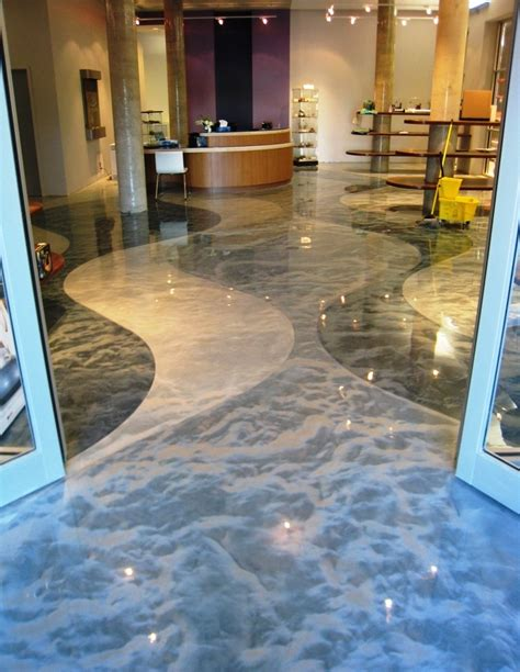 Epoxy Floor by Metallic Metallic Epoxy Floor Coating Pictures