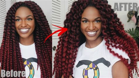 how to keep senegalese twists from unraveling unraveling my ombre crochet havana twists quick tutorial