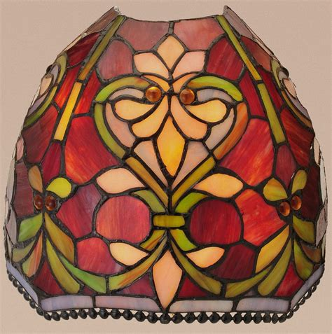 Stained Glass Wall Sconce Style Brianne Wireless Led Stained Glass Wall Sconce W Remote New Ebay