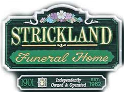 strickland funeral home facilities include crematory in