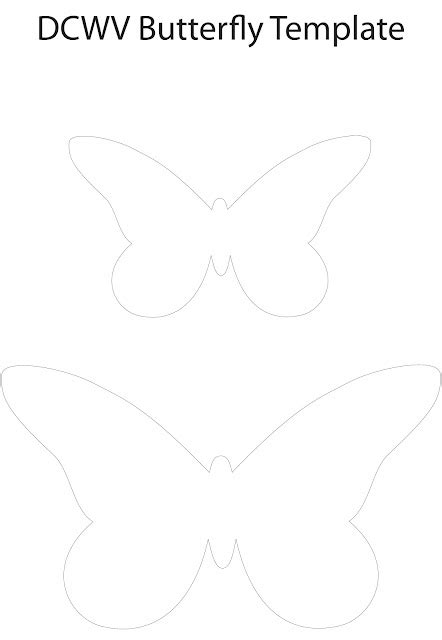 butterfly paper cut out template best photos of paper butterfly template tissue paper