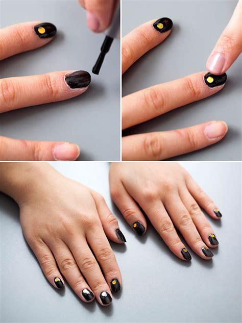 imagenes de uñas en negro con dorado 3 idea de u 241 as confeti para lucirse gu 237 a de manualidades