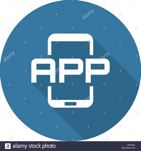 design application icon mobile application icon flat design stock vector art