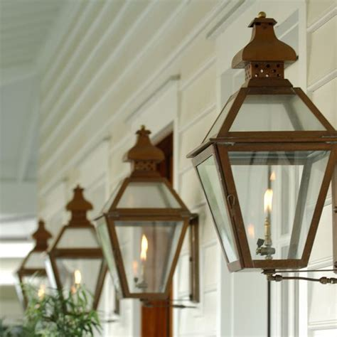 Gas Porch Light by 1000 Ideas About Gas Lanterns On Exterior