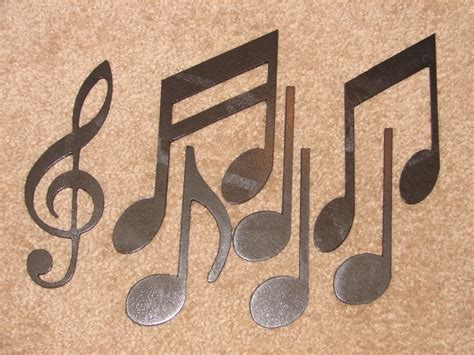 metal wall decor notes musical note patio wall