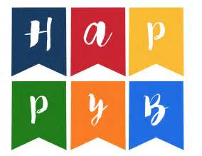 Free Happy Birthday Banner Templates by 100 Happy Birthday Banner Printable Template Cake And