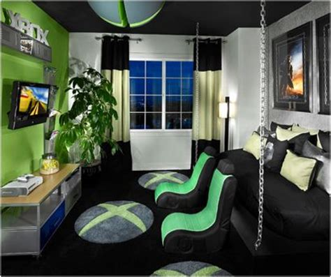 cool gaming rooms awesome looking xbox room gamer room ideas caves awesome and