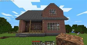 Home Designs For Minecraft Cozy 2 Story Brick House Minecraft House Design