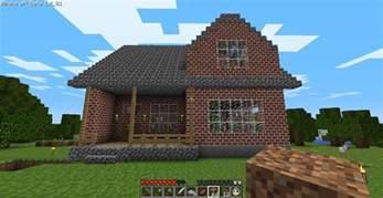Minecraft Simple Home Design Cozy 2 Story Brick House Minecraft House Design