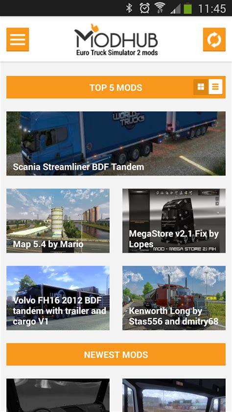 Download Game Euro Truck Mod Apk | euro truck simulator 2 mods 1 5 apk download simulation