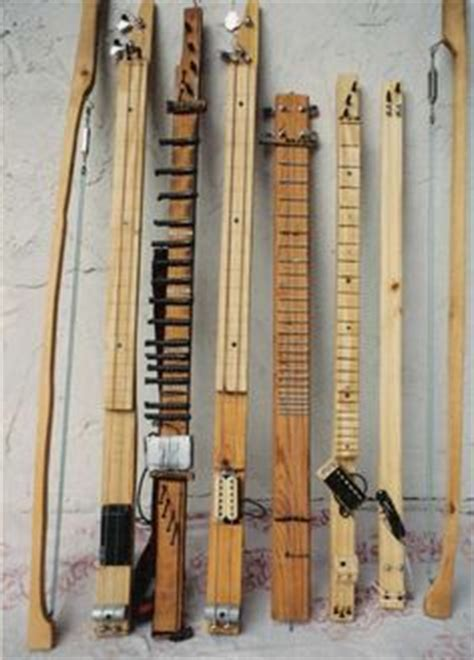 Handmade String Instruments - diddley bows handmade guitars cigar box guitars