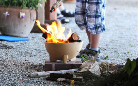ton feuerstelle zwergenfeuer denk keramik