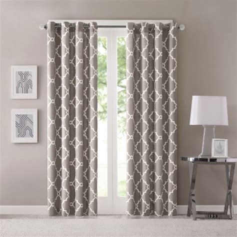 fretwork curtains sereno fretwork print curtain panel target