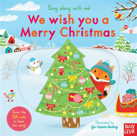 sing        merry christmas nosy crow