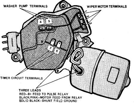 1969 Camaro Windshield Wiper Motor Wiring Diagram