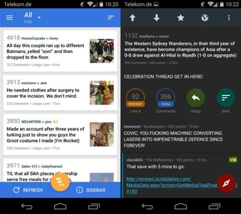 Android Without Reddit by Reddit News Is An Advanced Reddit Client For Android