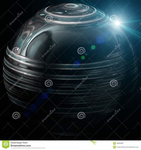 taking a stock of space lighting and design in your futuristic technology background design stock illustration