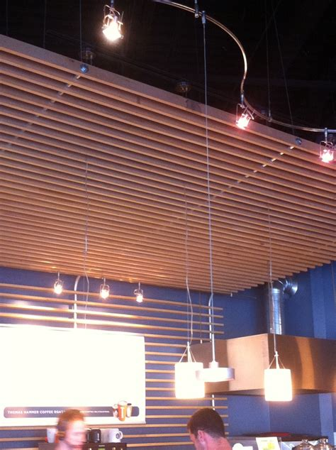 Ceiling Slats by Ceiling Cloud Wood Slats Yu Walls Ceilings